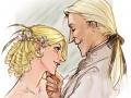 Малфои Люциус и Нарцисса
